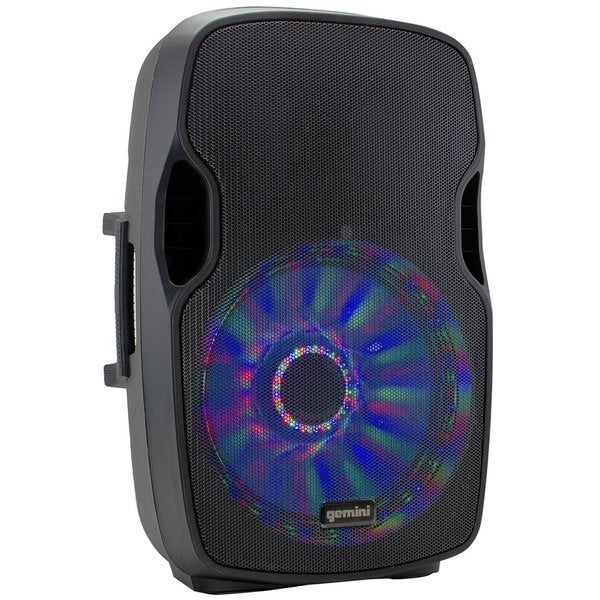 Shop Gemini AS15BLULT Channel Powered Speaker Cabinet With