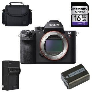 Sony Alpha a7R II Mirrorless Digital Camera (Body Only) Bundle