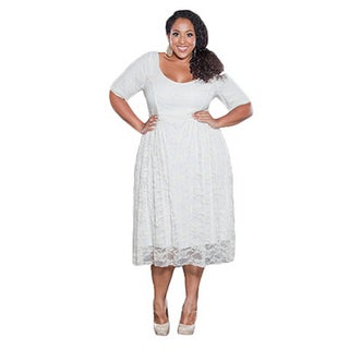 Sealed with a Kiss Women's Plus Size Kara Lace Dress (More options available)