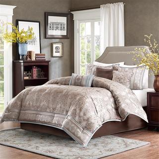 Madison Park Garrison Blue Comforter Set