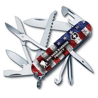 Victorinox Fieldmaster American Flag Wounded Warrior Swiss Army Knife