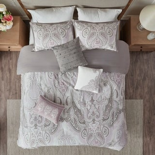 Madison Park Morena Cotton Duvet Cover 6 Piece Set