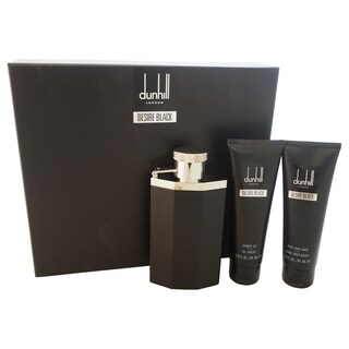 Desire Black Dunhill Men's 3-piece Gift Set
