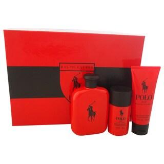 Ralph Lauren Polo Red Men's 3-piece Gift Set