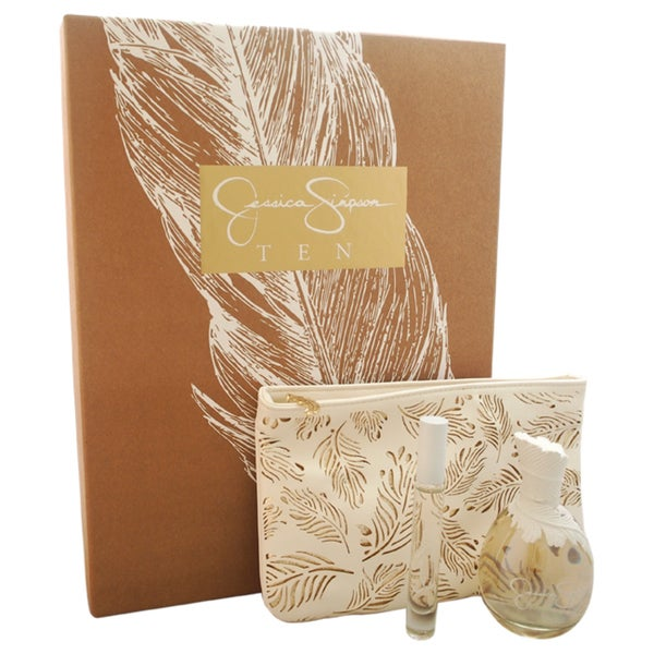 Jessica Simpson Ten Women's 3-piece Gift Set