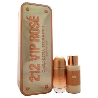 Carolina Herrera 212 VIP Rose Women's 2-piece Gift Set