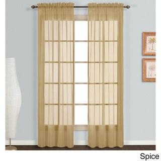 Monte Carlo Sheer Curtain Panel Pair
