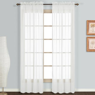 Monte Carlo Sheer Curtain Panel Pair