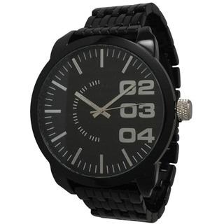 Olivia Pratt Men's Polished Alloy Watch