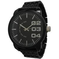 Olivia Pratt Men's Polished Alloy Watch