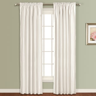 Luxury Collection 'Anna' Faux Silk Lined Curtain Panel