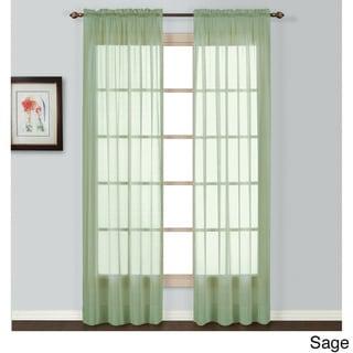 Batiste Semi-Sheer Curtain Panel