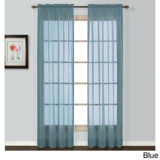 Luxury Collection Batiste Semi-Sheer Curtain Panel