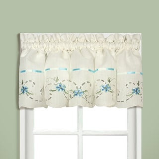 Luxury Collection Rachael Embroidered Florals with Ribbon Kitchen Tiers and Toppers (More options available)