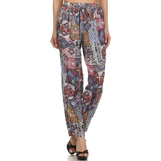 MOA Collection Women's Diamond Jogger Pants https://ak1.ostkcdn.com/images/products/11418902/P18382023.jpg?impolicy=medium