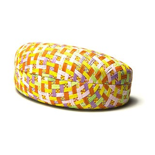 Hard Cover Eyewear Case with Paper Pattern