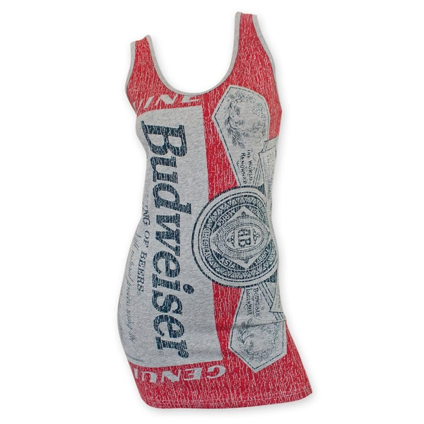 045d51c0 Shop Budweiser Grey Label Women's Tank Top - Free Shipping On Orders Over  $45 - Overstock - 11418966