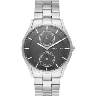 Skagen Men's SKW6266 Holst Multi-Function Grey Dial Stainless Steel Bracelet Watch