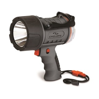 Cyclops 300 Lumen Rechargeable Water Proof Spotlight Grey