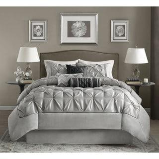 Madison Park Lafayette Grey Comforter Set