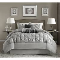 Clay Alder Home Red Cliff Grey Comforter Set