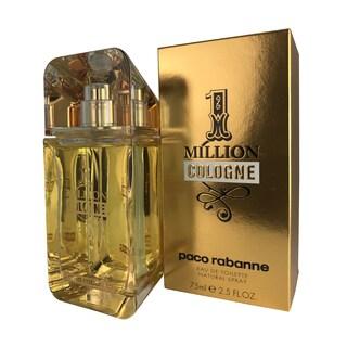 Paco Rabanne 1 Million Cologne Men's 2.5-ounce Eau de Toilette Spray