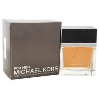 Michael Kors Men's 2.3-ounce Eau de Toilette Spray|https://ak1.ostkcdn.com/images/products/11419151/P18382211.jpg?impolicy=medium
