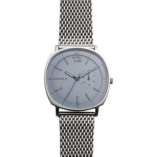 Skagen Men's SKW6255 Rungsted Analog Grey Dial Stainless Steel Mesh Bracelet Watch