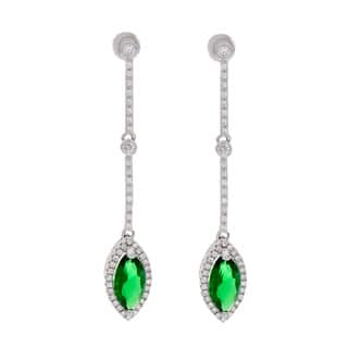 Nexte Jewelry Sterling Silver Elegant Marquise Cubic Zirconia Dangle Earrings|https://ak1.ostkcdn.com/images/products/11419319/P18382332.jpg?impolicy=medium