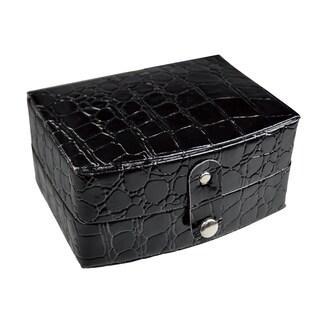 Ikee Design Leatherette Jewelry Box