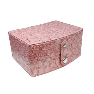 Ikee Design Leatherette Jewelry Box