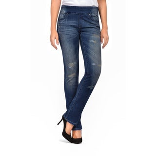 Bluberry Women's Olivia Straight Leg Denim