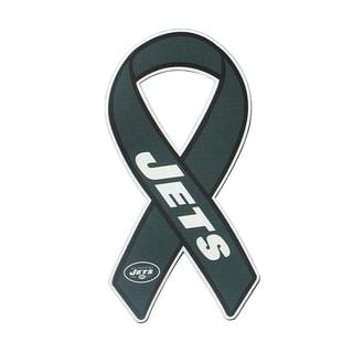 New York Jets Sports Team Logo Ribbon Magnet