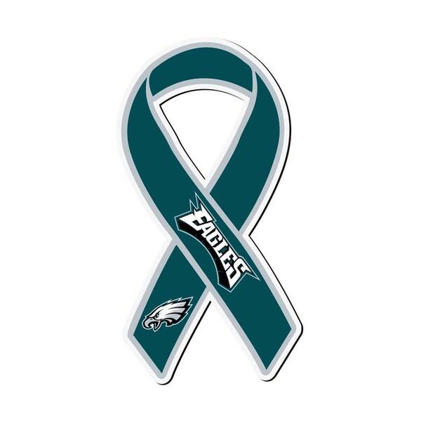 Philadelphia Eagles Sports Team Logo Ribbon Magnet