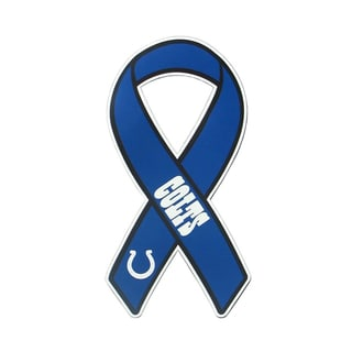 Indianapolis Colts Sports Team Logo Ribbon Magnet