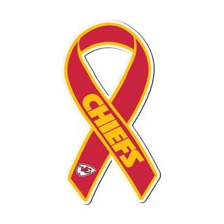 Kansas City Chiefs Sports Team Logo Ribbon Magnet