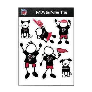 Atlanta Falcons Sports Team Logo Family Magnet Set