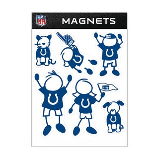 Indianapolis Colts Sports Team Logo Family Magnet Set