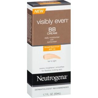 Neutrogena Visibly Even BB Cream Fair To Light