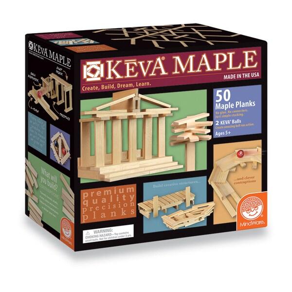 KEVA Maple 50 Plank Set