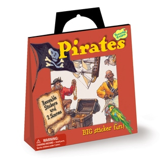 Pirates Sticker Tote