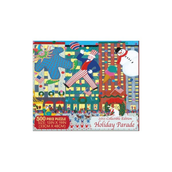 Holiday Parade Puzzle Collectible Edition: 500 Pieces