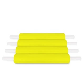 Yellow Pallet Stretch Wrap Handwrap 20 In 1000 Ft 80 Ga 288 Rolls (72 Cases)