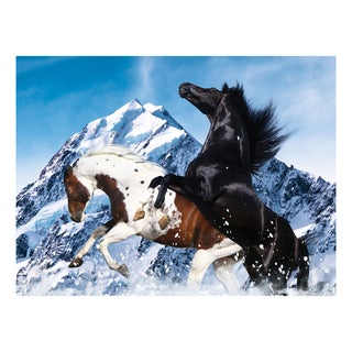Heavenly Horses Snowy Mountain: 300 Pieces