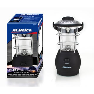 ACDelco AC356 16 LED 3D Black Camping Lantern
