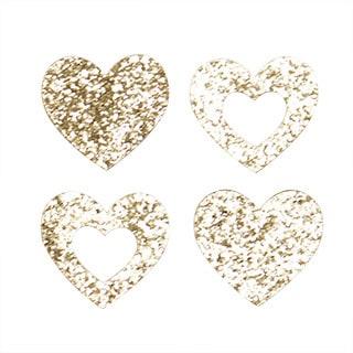 Little Haven Heart Letter Embellishments (Set of 4)