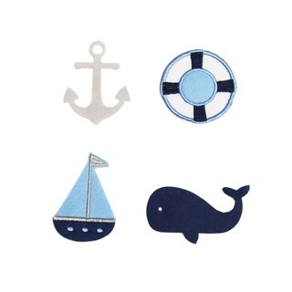 Little Haven Nautical Letter Embellishments (Set of 4)