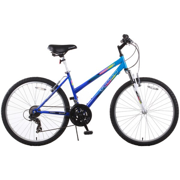 Trail 21-speed Suspension Blue Women's Mountain Bike