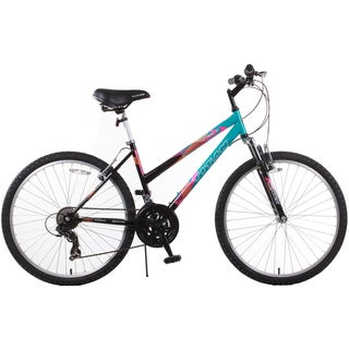 Trail 21-speed Suspension Black Women's Mountain Bike