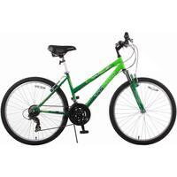 Trail 21-speed Green Suspension Women's Mountain Bike